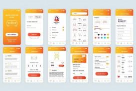 007 Fantastic Mobile App Design Template Image  Size Adobe Xd Ui Psd Free Download