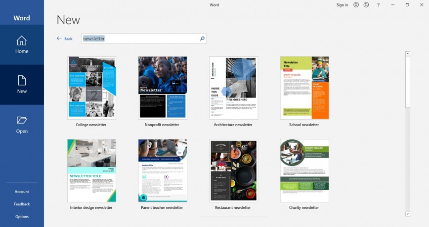 007 Fantastic M Word Newsletter Template Picture  Microsoft Free Download
