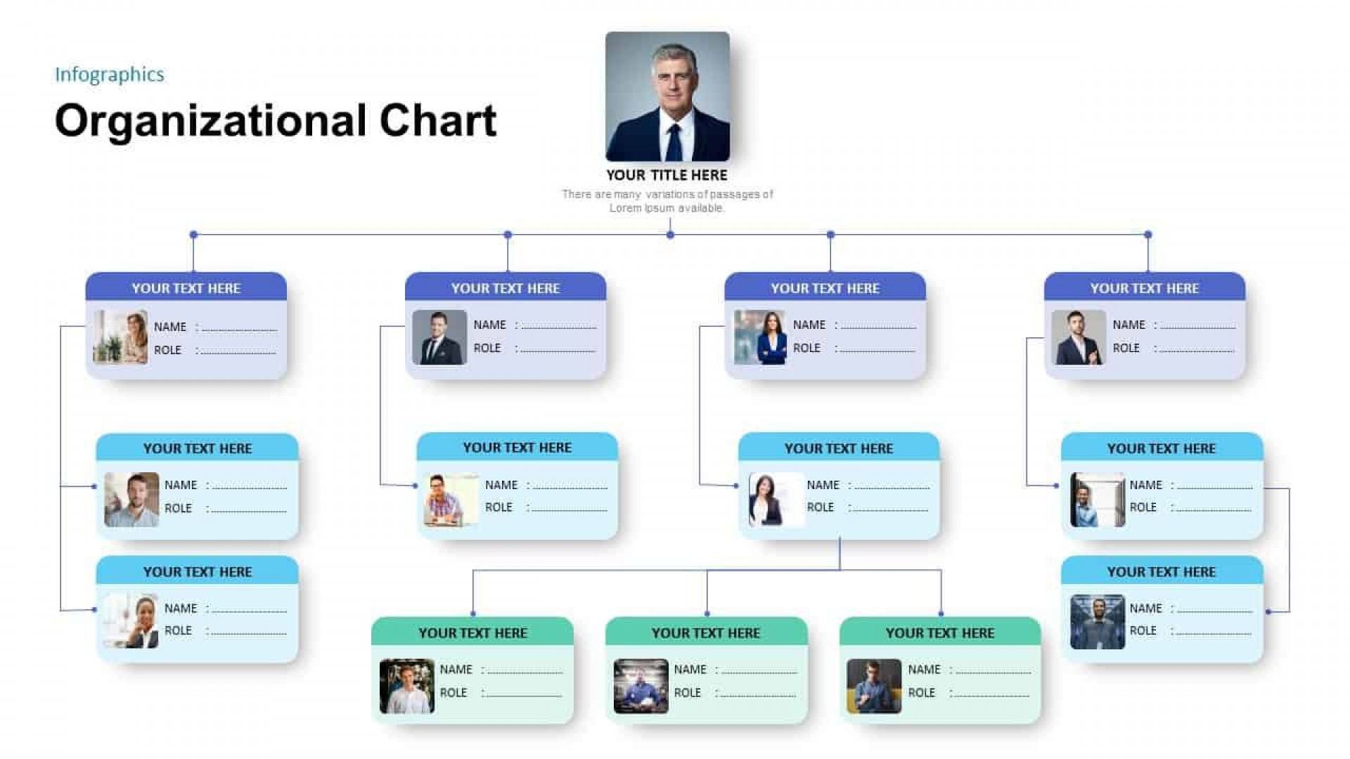 Organisation Chart Template Ppt Free Addictionary