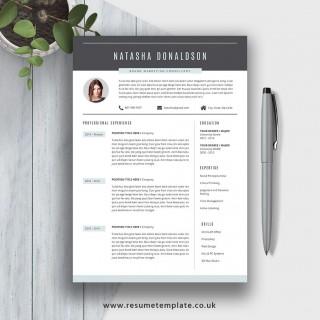 007 Fantastic Resume Template M Word 2020 Photo  Free Microsoft320