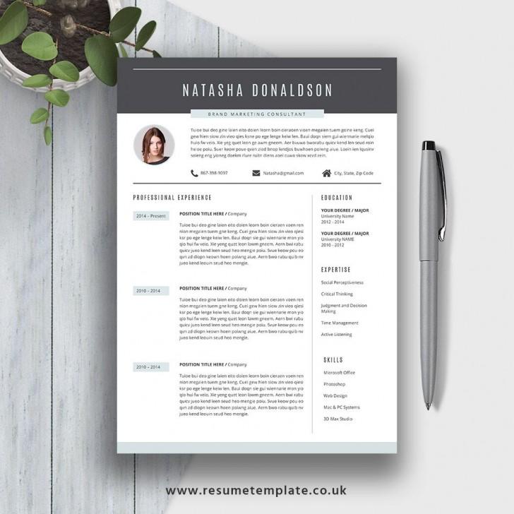 007 Fantastic Resume Template M Word 2020 Photo  Free Microsoft728