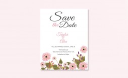 007 Fantastic Save The Date Word Template Photo  Free Birthday For Microsoft Postcard Flyer