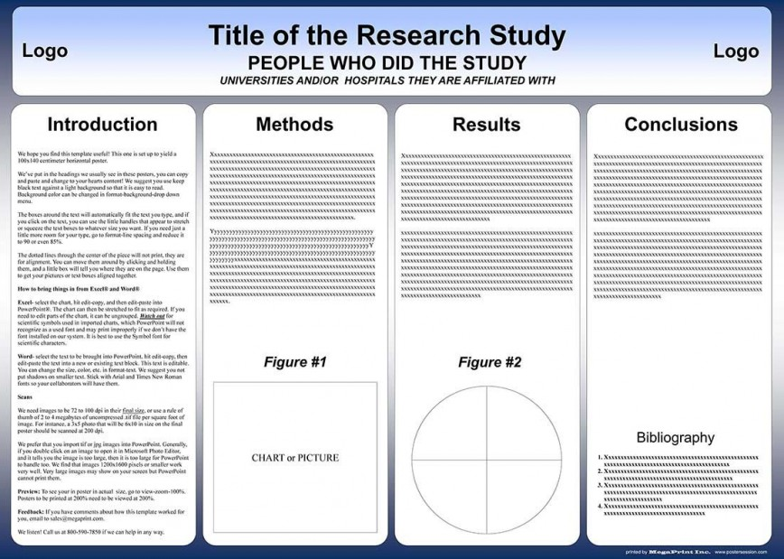 007 Fantastic Scientific Poster Presentation Template Free Download Highest Clarity