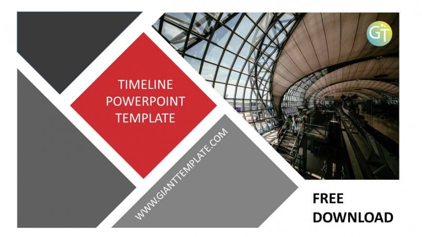 007 Fantastic Timeline Template Powerpoint Download Concept  Infographic Project Free868