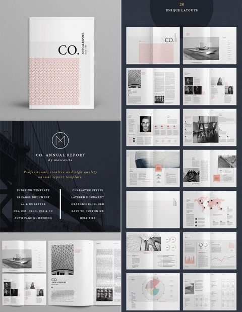 007 Fascinating Annual Report Design Template Indesign Highest Clarity  Free Download480