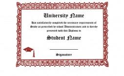 007 Fascinating Free High School Diploma Template Sample  Templates Print Out Editable Printable