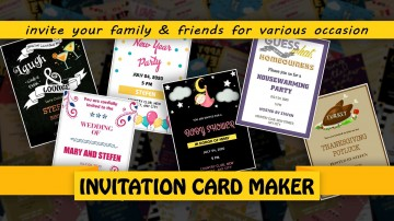 007 Fascinating Free Online Birthday Invitation Card Maker With Photo Sample  1st360