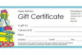 007 Fascinating Free Printable Template For Gift Certificate Photo  Voucher