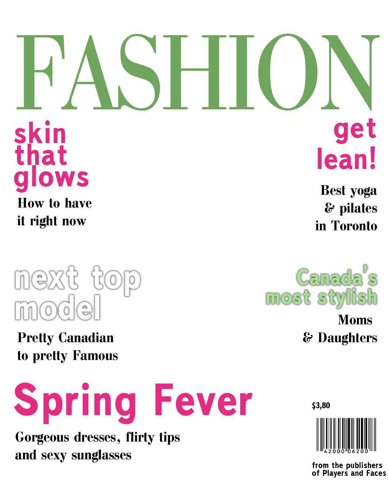 007 Fascinating Magazine Cover Template Free Design  PersonalizedFull