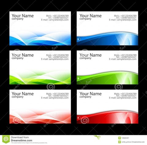 007 Fascinating M Office Busines Card Template Highest Quality  Microsoft 2010 2003 2007480