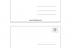 007 Fascinating Postcard Layout For Microsoft Word Picture  Busines Template