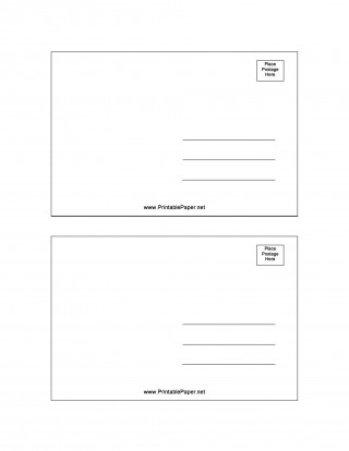 007 Fascinating Postcard Layout For Microsoft Word Picture  Busines Template320