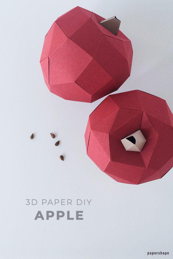 007 Fearsome 3d Paper Art Template Idea  Templates PdfFull