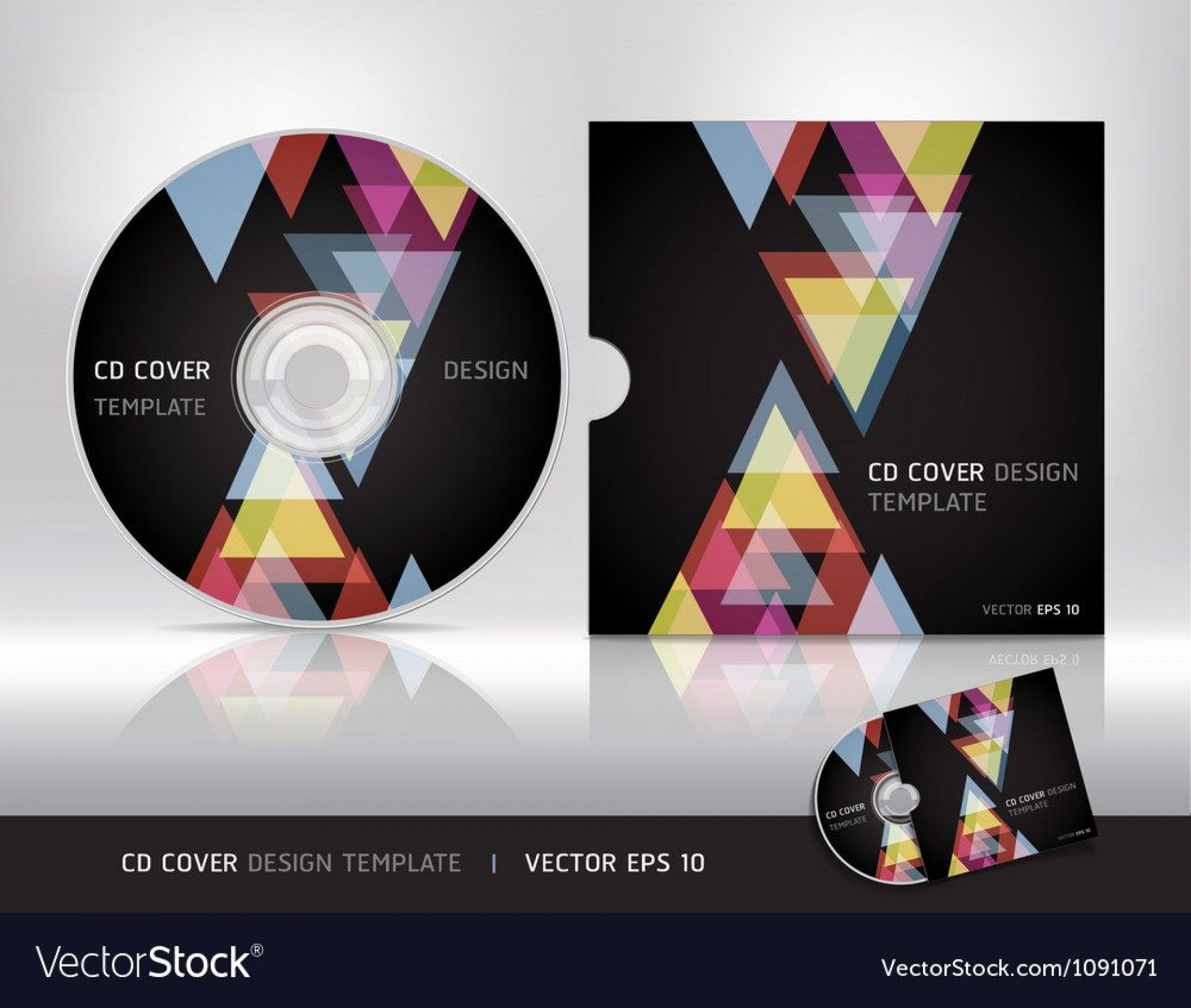 007 Fearsome Cd Cover Design Template Inspiration  Free Vector Illustration Word Psd Download1920