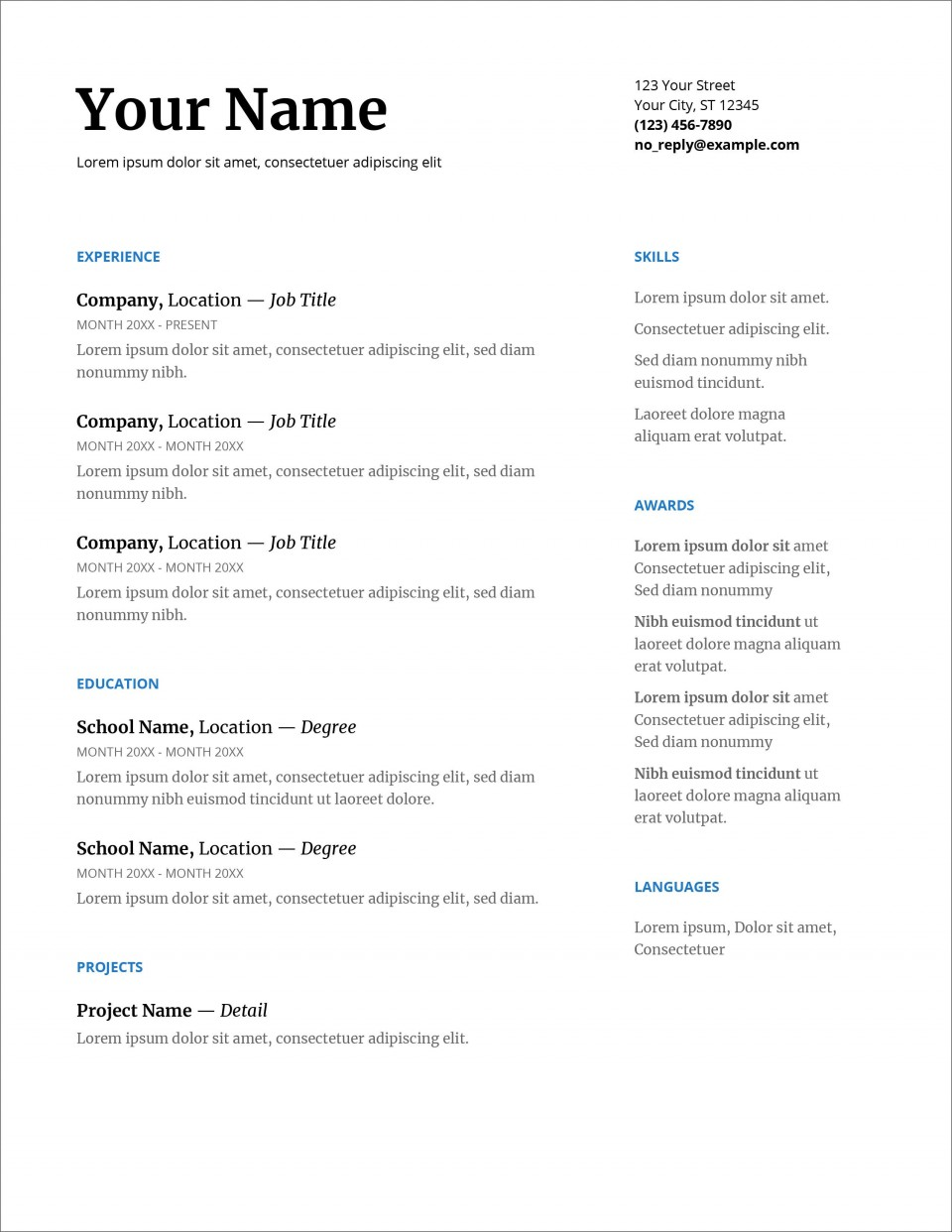 007 Fearsome Download Resume Template Word 2007 High Resolution 960