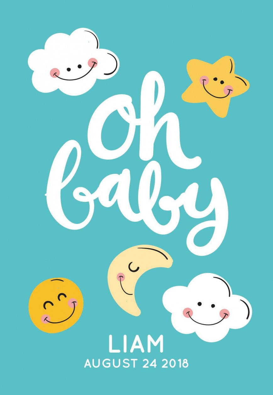 007 Fearsome Free Baby Shower Template For Powerpoint Idea  Background