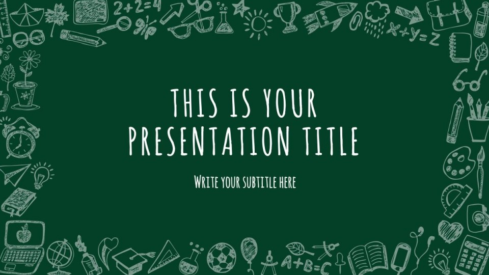007 Fearsome Free Education Ppt Template High Definition  Powerpoint For Teacher Creative Download Professional960