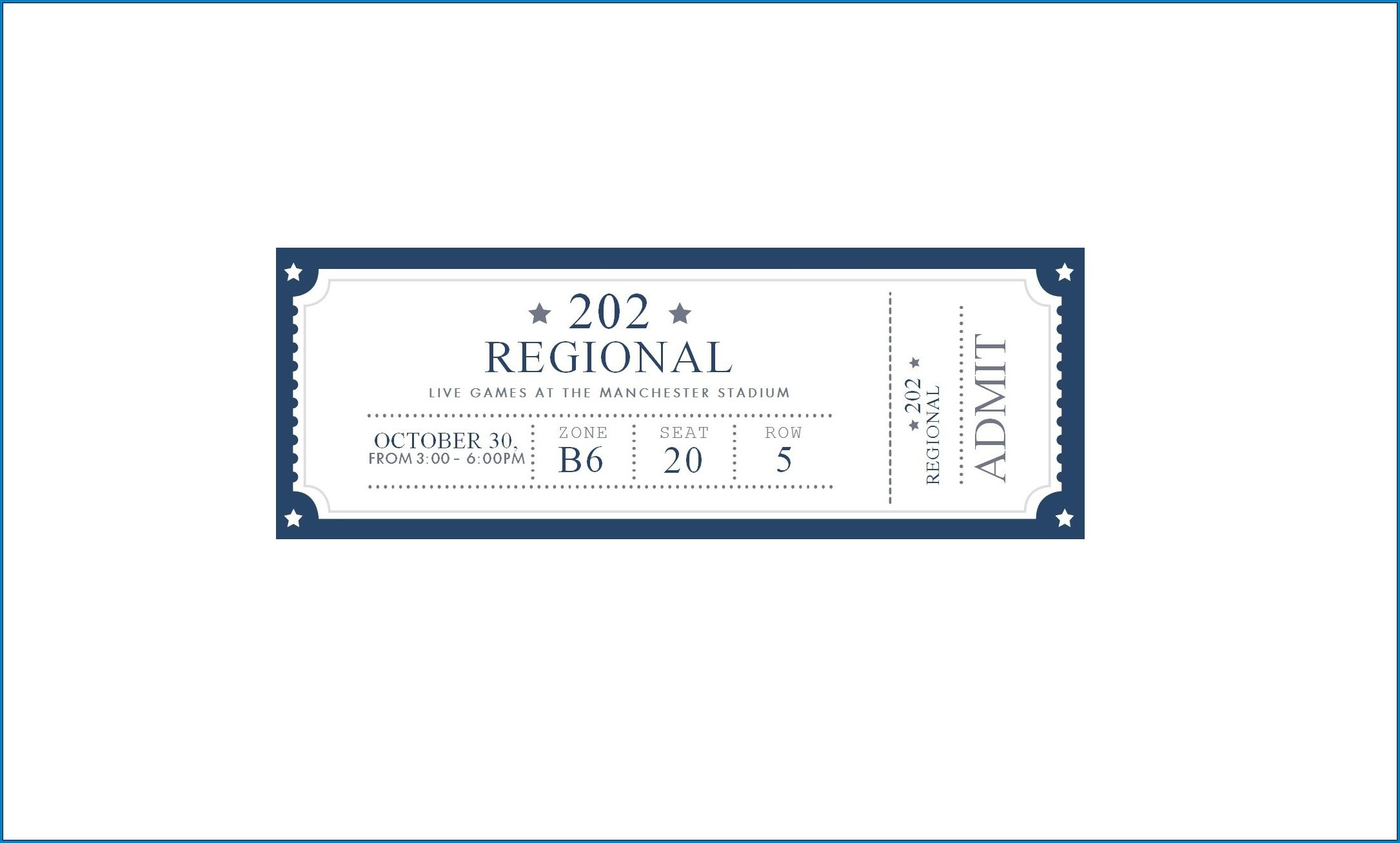 007 Fearsome Free Printable Ticket Stub Template High Definition Full