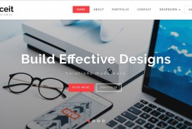007 Fearsome Free Responsive Html5 Template High Def  Download For School Bootstrap Website