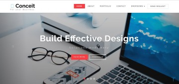 007 Fearsome Free Responsive Html5 Template High Def  Download For School Bootstrap Website360