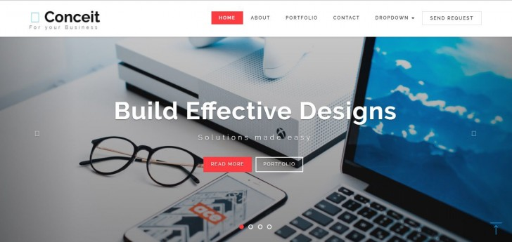 007 Fearsome Free Responsive Html5 Template High Def  Download For School Bootstrap Website728