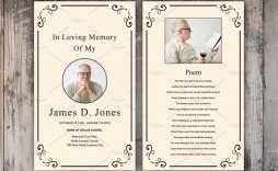 007 Fearsome Funeral Prayer Card Template Design  Templates For Word Free