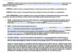 007 Fearsome Generic Rental Lease Agreement Nj Concept  Sample