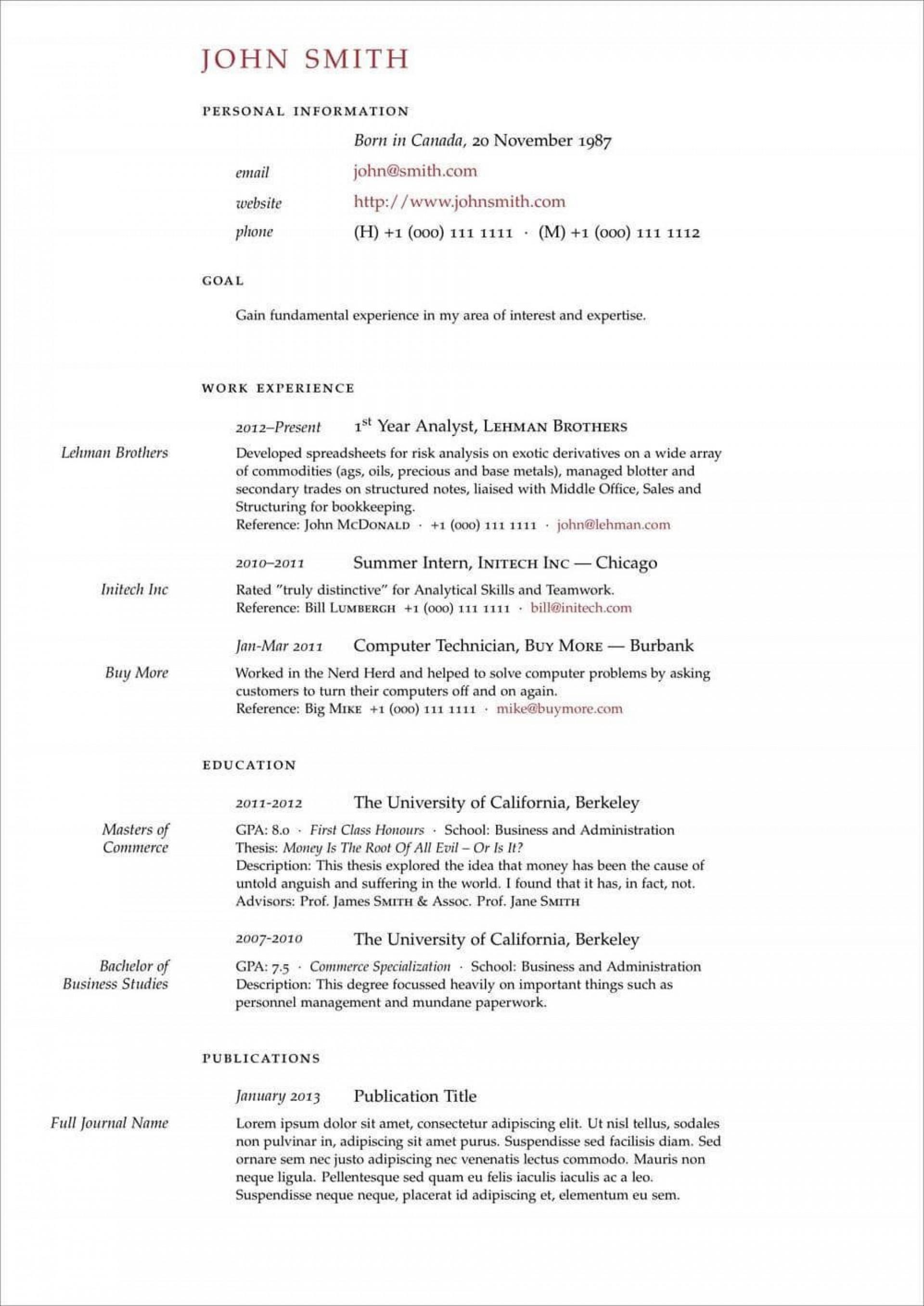 007 Fearsome Latex Resume Template Phd Example  Cv Graduate Student Economic1920