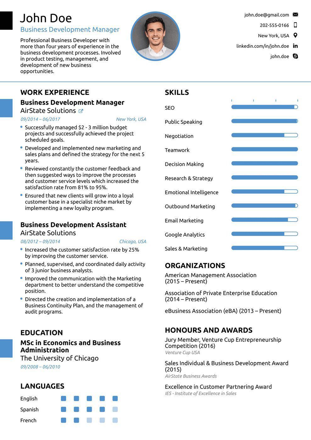 007 Fearsome Professional Resume Template Example Design  Examples Layout Cv Writing FormatFull