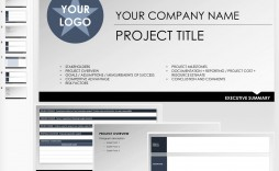 007 Fearsome Project Executive Summary Template Sample  Example Ppt Proposal Doc