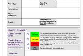 007 Fearsome Project Management Statu Report Template Excel Inspiration  Progres Update