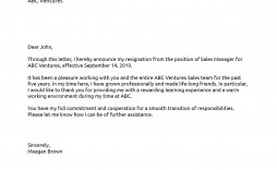 007 Fearsome Sample Resignation Letter Template Picture  For Teacher Word - Free Downloadable