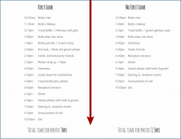 007 Fearsome Wedding Day Itinerary Template Idea  Sample Excel Word360