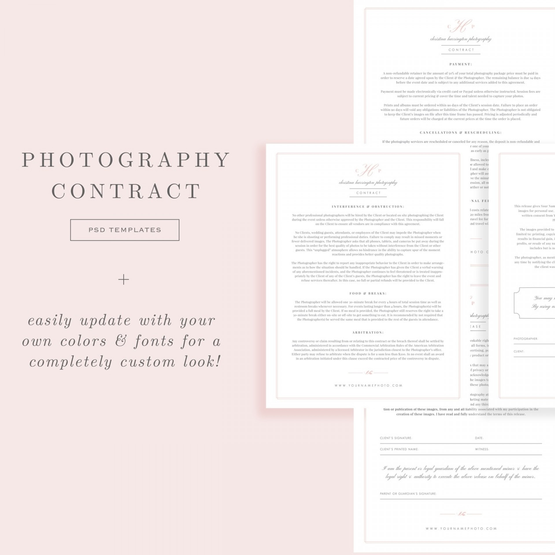 007 Fearsome Wedding Photographer Contract Template Photo  Free Photography Uk1920