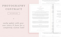 007 Fearsome Wedding Photographer Contract Template Photo  Free Photography Uk