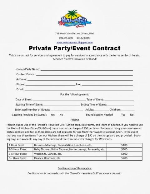 007 Fearsome Wedding Planner Contract Template Design  Uk Australia480