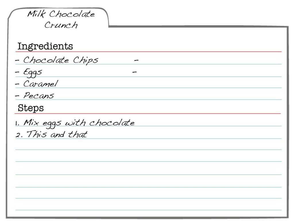 007 Formidable 3 X 5 Recipe Card Template Microsoft Word Idea Large