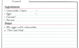 007 Formidable 3 X 5 Recipe Card Template Microsoft Word Idea