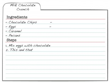 007 Formidable 3 X 5 Recipe Card Template Microsoft Word Idea 360