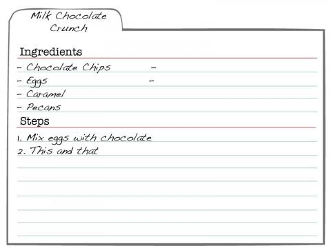 007 Formidable 3 X 5 Recipe Card Template Microsoft Word Idea 480