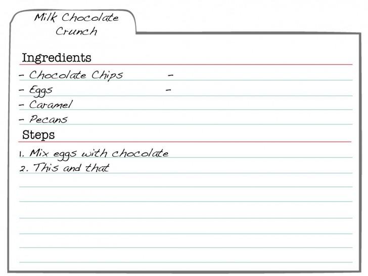 007 Formidable 3 X 5 Recipe Card Template Microsoft Word Idea 728