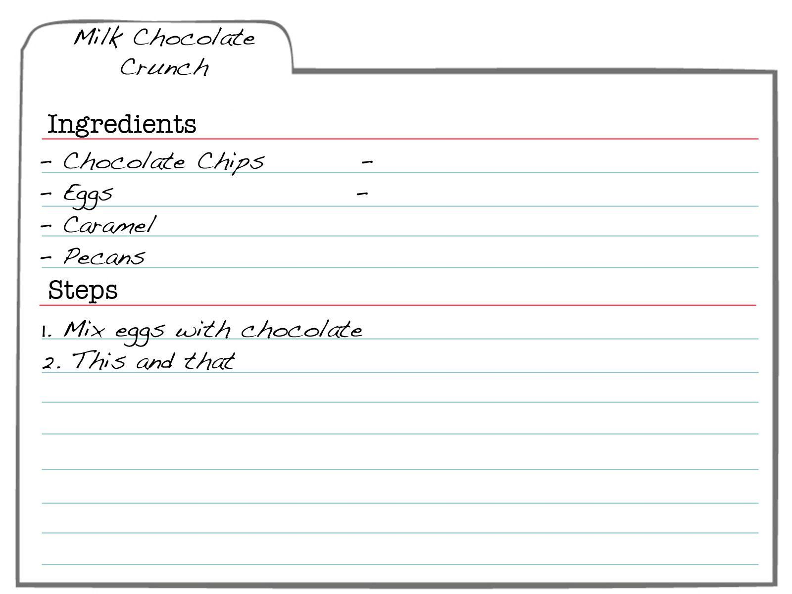 007 Formidable 3 X 5 Recipe Card Template Microsoft Word Idea Full