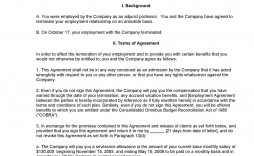 007 Formidable Employment Separation Agreement Template Highest Clarity  Nc Shrm Employee Florida