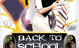 007 Formidable Free Back To School Flyer Template Psd Idea