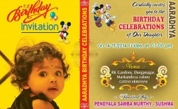 007 Formidable Free Online Birthday Invitation Card Maker With Name And Photo Idea