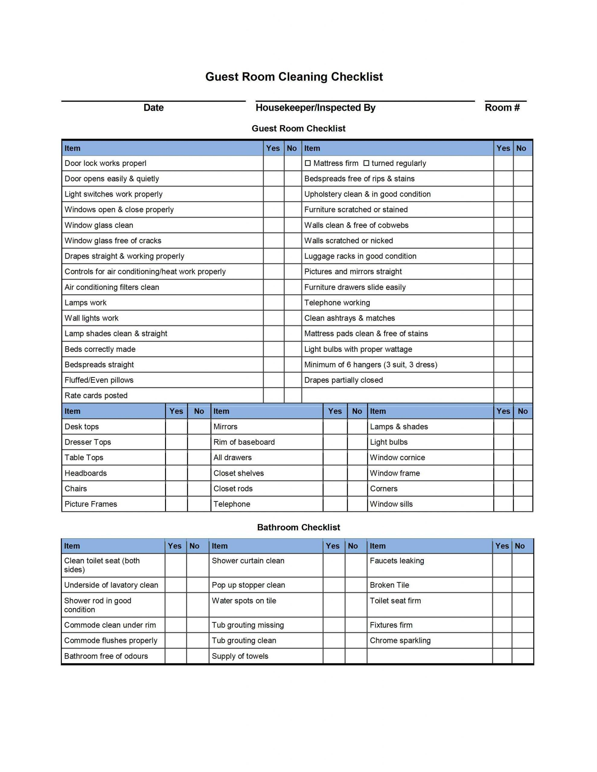 007 Formidable House Cleaning Schedule Template Excel Highest Quality Full