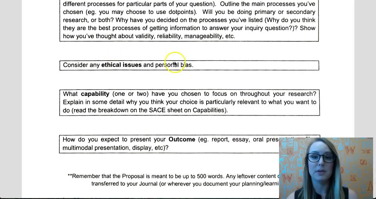 007 Formidable Research Project Proposal Example Sace Picture Full