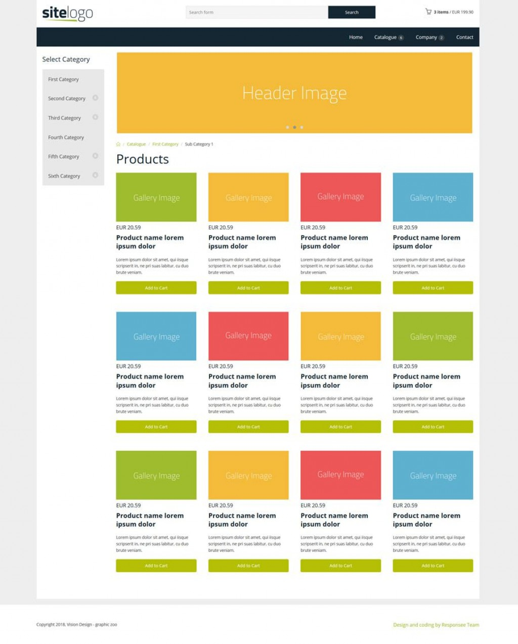 007 Formidable Simple Html Responsive Website Template Free Download High Def  With Cs BootstrapLarge