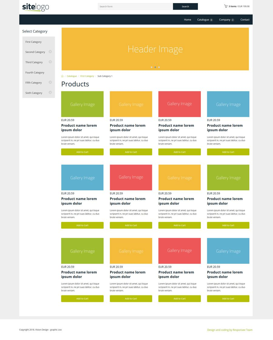007 Formidable Simple Html Responsive Website Template Free Download High Def  With Cs BootstrapFull