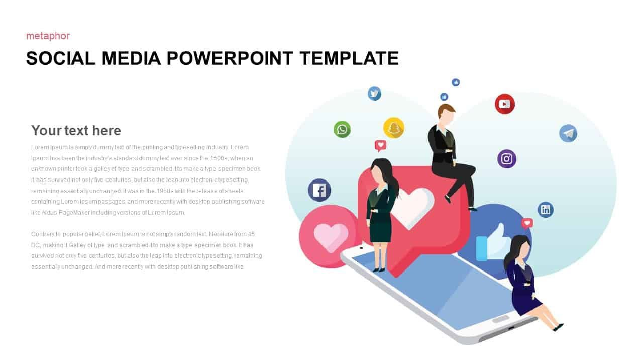 007 Formidable Social Media Powerpoint Template Image  Templates Report Free Social-media-marketing-powerpoint-templateFull